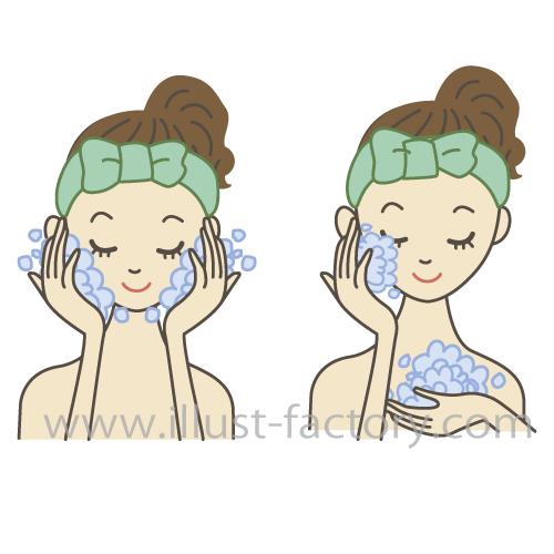 化粧品紹介イラスト★女性向きタッチ★美容系にオススメ!