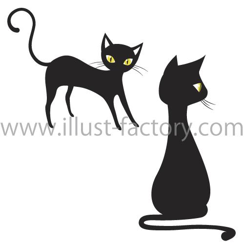 猫イラスト★ネコハウス用の模様