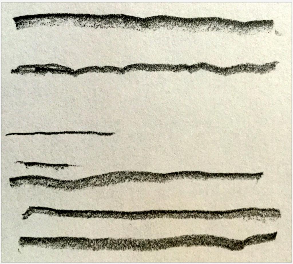 Illustratorで手描きペンの作り方:実際に手描き線を描く