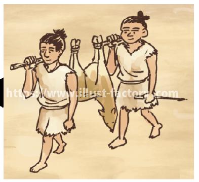 縄文時代の生活:狩り