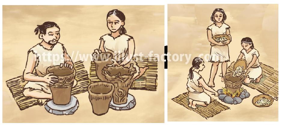 縄文時代の生活:縄文土器