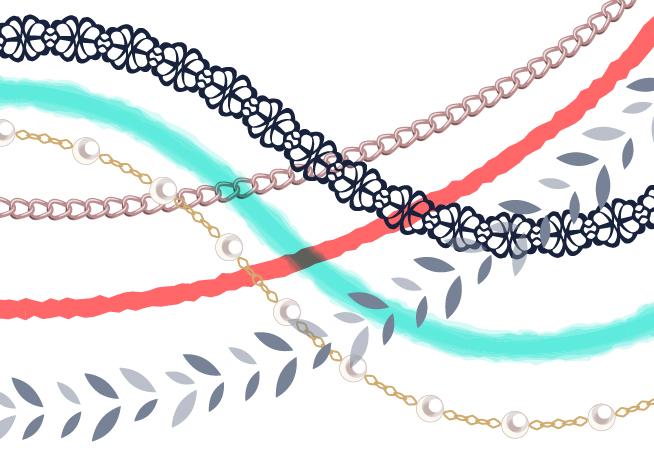 Illustrator「パターンブラシ」の作り方