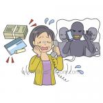 防犯★犯罪イメージイラスト