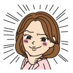 LINEスタンプ★コミカル女性似顔絵風スタンプ