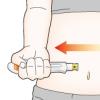 医療製品使用方法説明イラスト 堅めの線画タッチ H146
