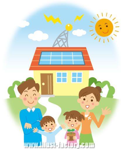 A06-126 太陽光発電システム 家族