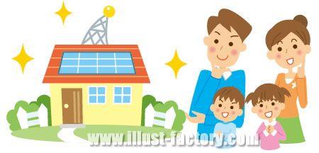 A06-127 太陽光発電システム 家族