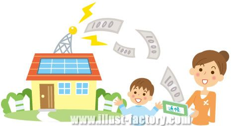 A06-129 太陽光発電システム 家族