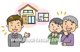 A102-13 住宅イラスト 間取り説明