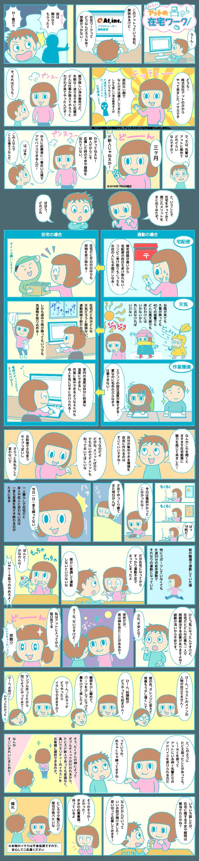 A197-1 在宅勤務のエピソード漫画