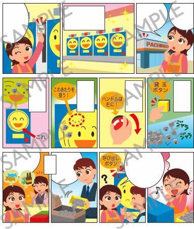 A35-07 パチンコ遊戯説明漫画