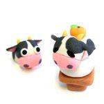 A36-06 鏡餅牛 制作例