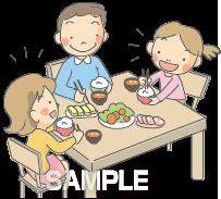 A51-16 家族での食事