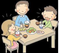 A51-17 家族での食事