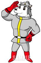 C36-02 白クマのキャラクターデザイン