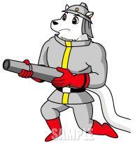 C36-03 白クマのキャラクターデザイン