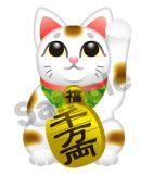 C59-01 招き猫キャラクター制作例