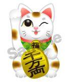 C59-02 招き猫キャラクター制作例