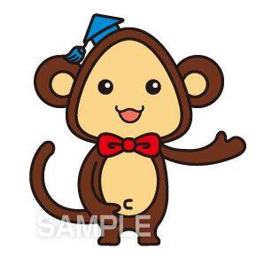 C66-02 猿のキャラクターデザイン例