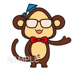 C66-03 猿のキャラクターデザイン例