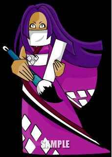 C78-02 ゲームキャラクター制作 紫式部