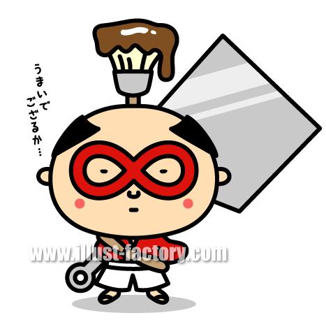 C87 お好み焼き店 キャラクター制作