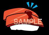 E15-20 寿司イラスト