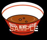 E15-5 スープの残りイラスト