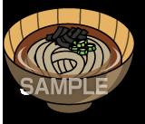 E15-6 蕎麦イラスト