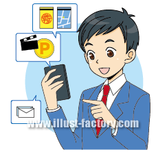 G109-10 スマートフォン活用 ポイント利用