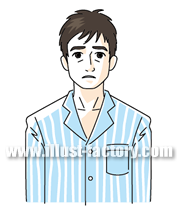 G149-02 パジャマの男性