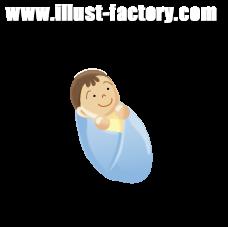 G17-18 赤ちゃんのイラスト