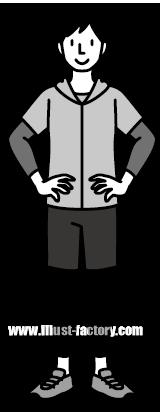 G185-01 人物 男性イラスト