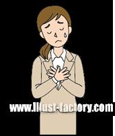 G241-01 涙を流す女性