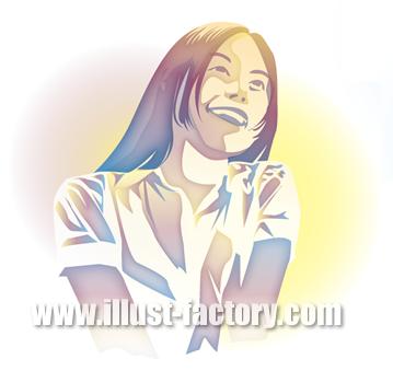 G252-01 若い女性