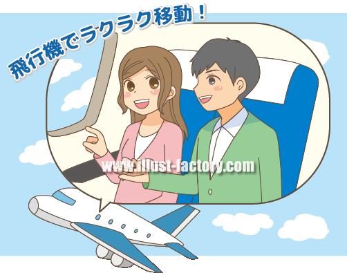 G261-02 飛行機で移動