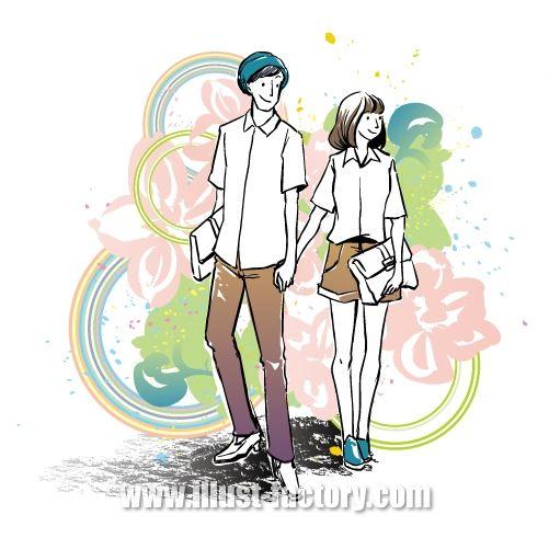 G295-01 若いカップル