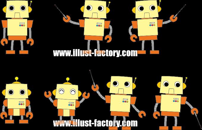 G377 ロボットイラスト制作