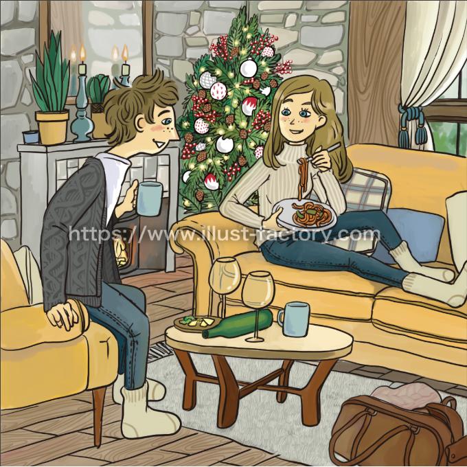 G420-02 季節のワンシーン[クリスマス昼]