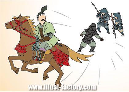 G76-04 戦国時代の戦と騎馬