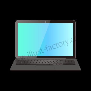 H118-06 リアルタッチイラスト・ノートPC