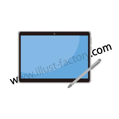 H119-03 シンプルタッチイラスト・タブレット