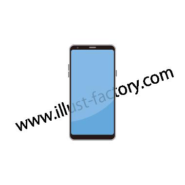 H119-04 シンプルタッチイラスト・スマートフォン