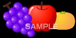 H16-14 果物のイラスト作成