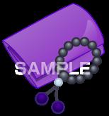 H16-09 香典、数珠のイラスト作成