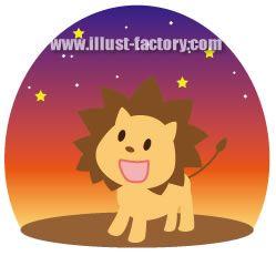 H33-03 星空のライオン