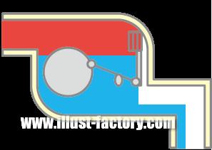 H49-04 部品の断面図イラスト
