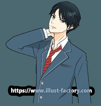 L32-02 アニメタッチ人物のイラスト制作