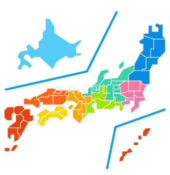 M07-1 日本地図制作