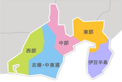 M23-1 都道府県地図イラスト・日本地図イラスト